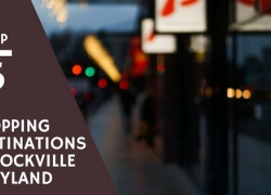 Top 5 Shopping Destinations in Rockville, Maryland