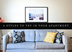 6 Decor Styles to Try in Your Apartment