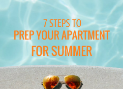 7 Steps to Prep Your Apartment for Summer