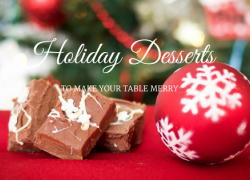 Holiday Desserts