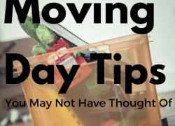 Moving Day Tips You May Not Have Thought Of