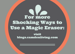 Shocking ways to use a magic eraser