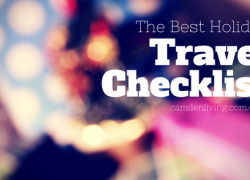 The best travel checklist