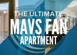 Dallas Mavericks apartment