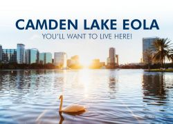 Camden Lake Eola Downtown Orlando New Apartments