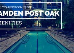 What Amenities Does Camden Post Oak Amenities?