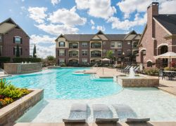 Resort-Style Swimming Pool at Camden Cypress Creek Apartments in Houston Texas