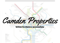 Metro Accessible Camden Apartments in the DC Area