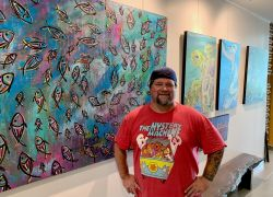 Camden Pier District Art Gallery Features Local Artists