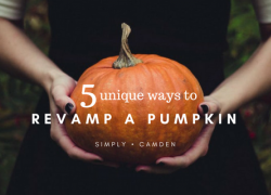 5 Unique Ways to Revamp a Pumpkin
