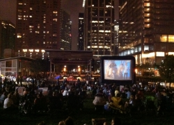 Free Outdoor Movies in Houston