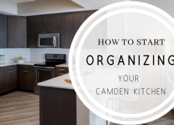How to Organize Your Camden Apartment Kitchen
