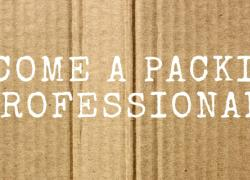 Become a Packing Professional on Cardboard
