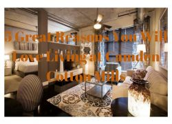 5 Great Reasons You Will Love Living at Camden Cotton Mills in Charlotte, North Carolina