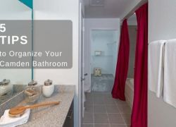 5 Helpful Ways To Organize Your Camden Apartment Bathroom