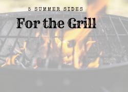 grilled summer sides