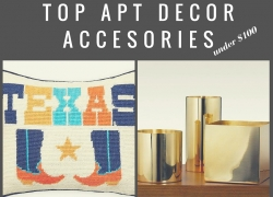 top apartment decor accessories