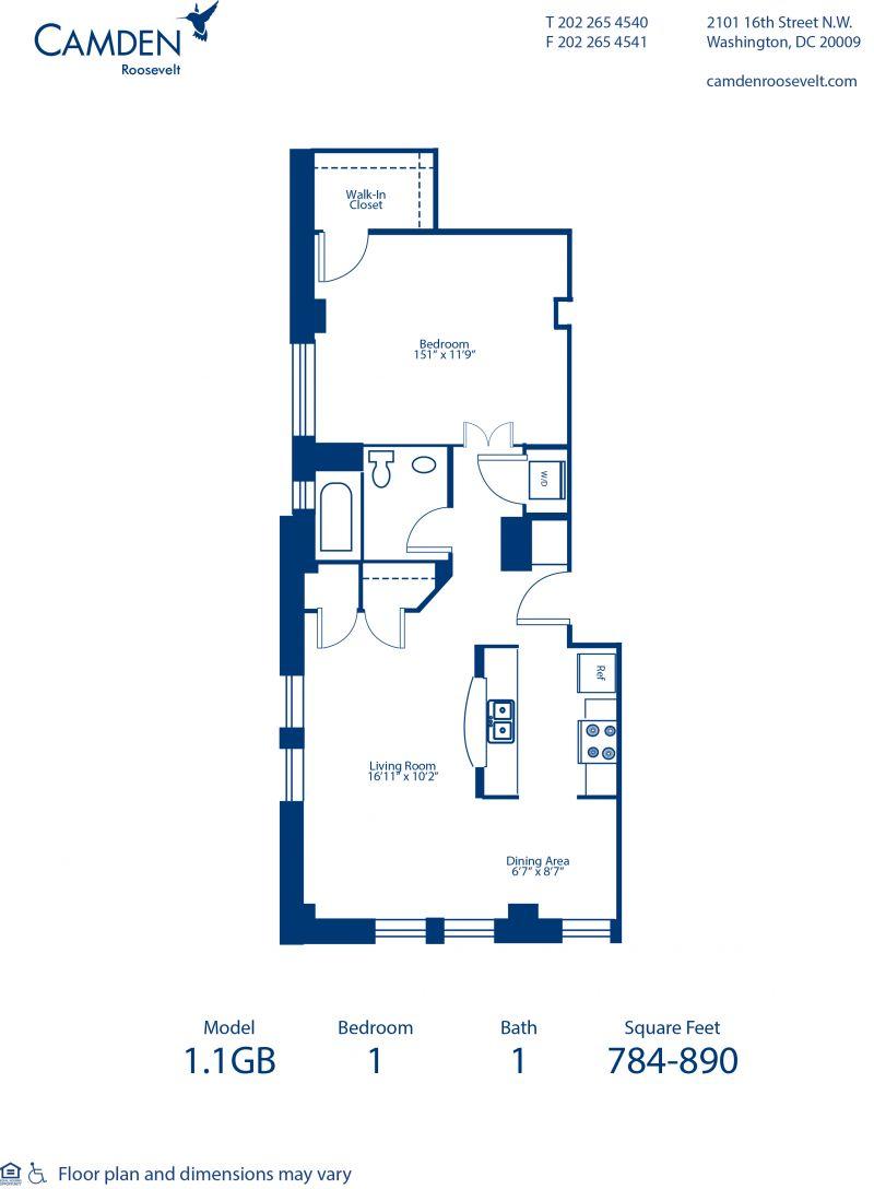Studio 1 2 3 bedroom apartments in washington dc - 1 bedroom apartments washington dc ...