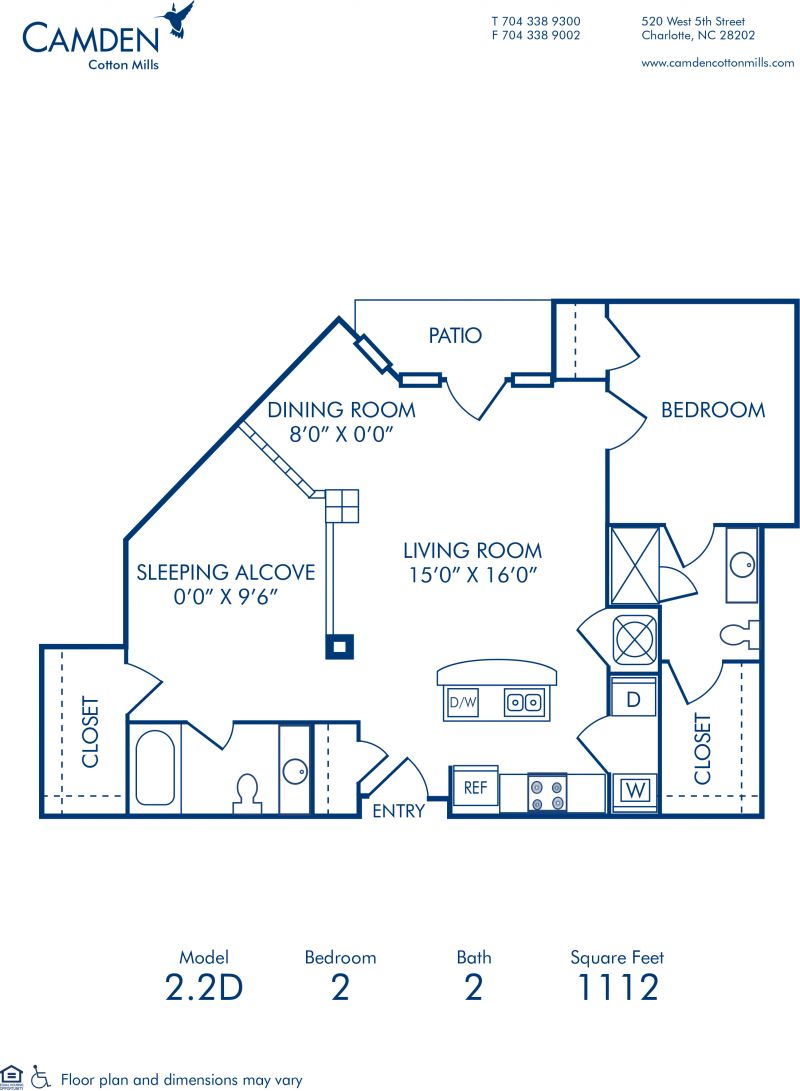 Studio, 1 & 2 Bedroom Apartments in Charlotte, NC - Camden ...