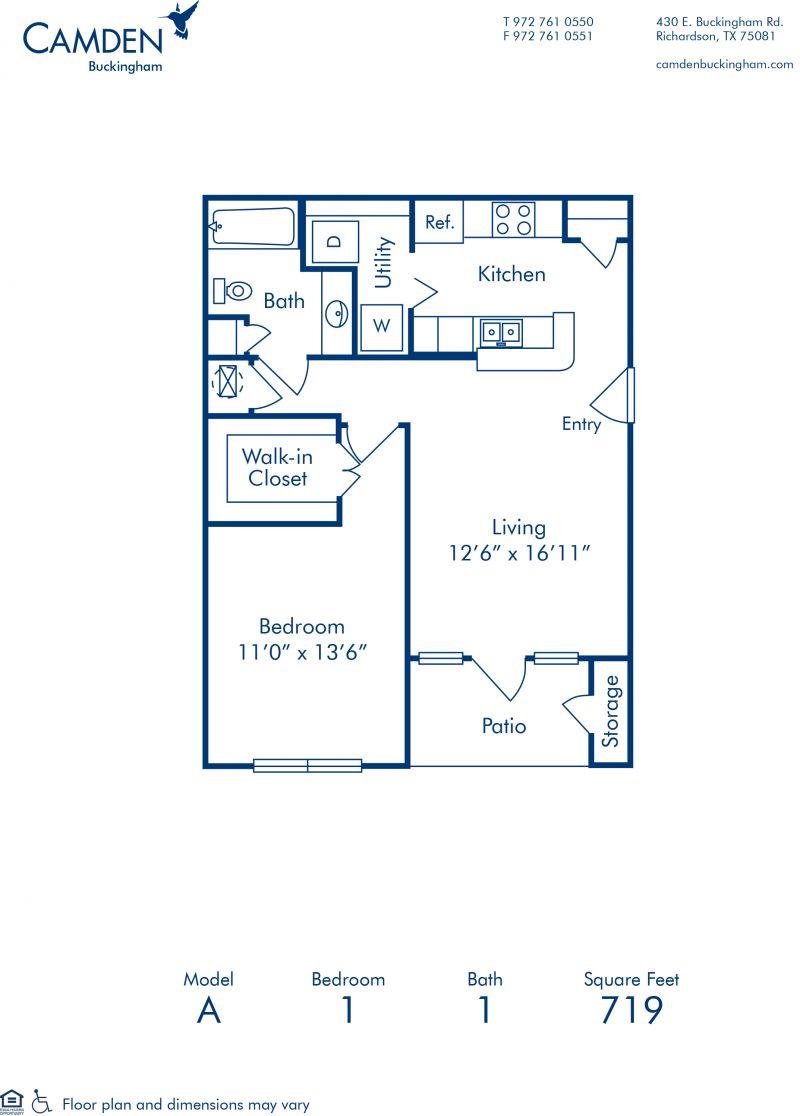 1 2 Bedroom Apartments In Richardson Tx Camden Buckingham