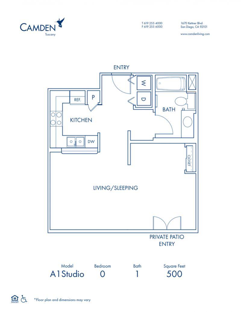 Studio, 1, 2 & 3 Bedroom Apartments In San Diego, CA