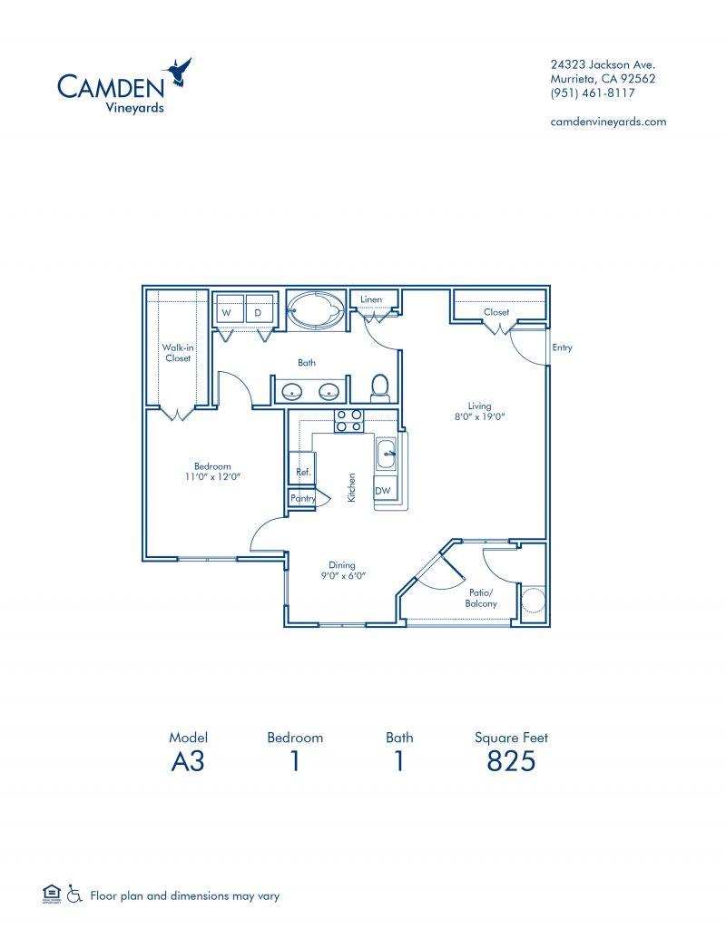 1 2 3 Bedroom Apartments In Murrieta Ca Camden Vineyards