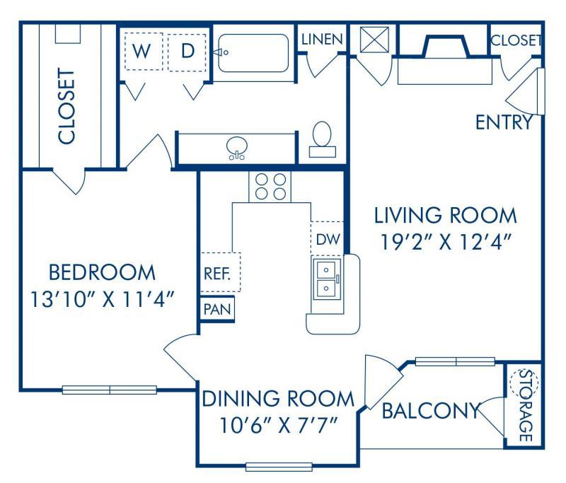 1, 2 & 3 Bedroom Apartments in Englewood, CO - Camden Caley