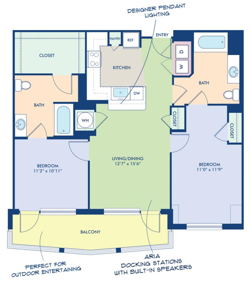 Studio, 1 & 2 Bedroom Apartments In Washington, DC