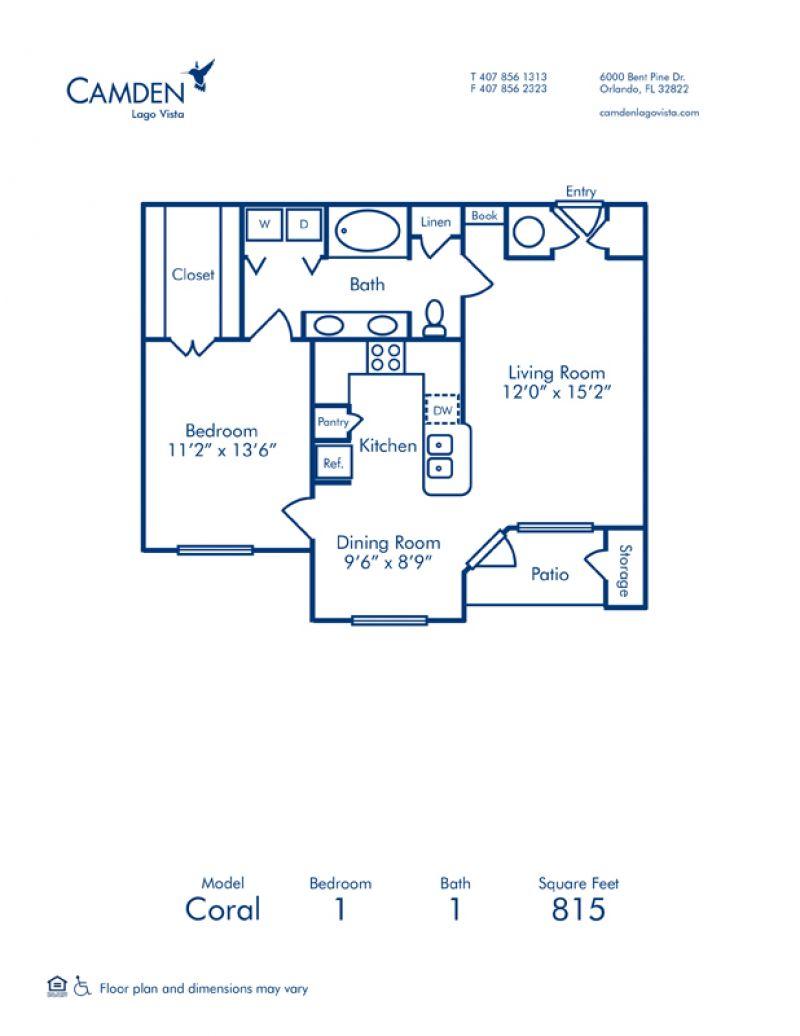 Camden Lago Vista on brick townhouse, kitchen townhouse, 2 bedroom 2 bath townhouse,