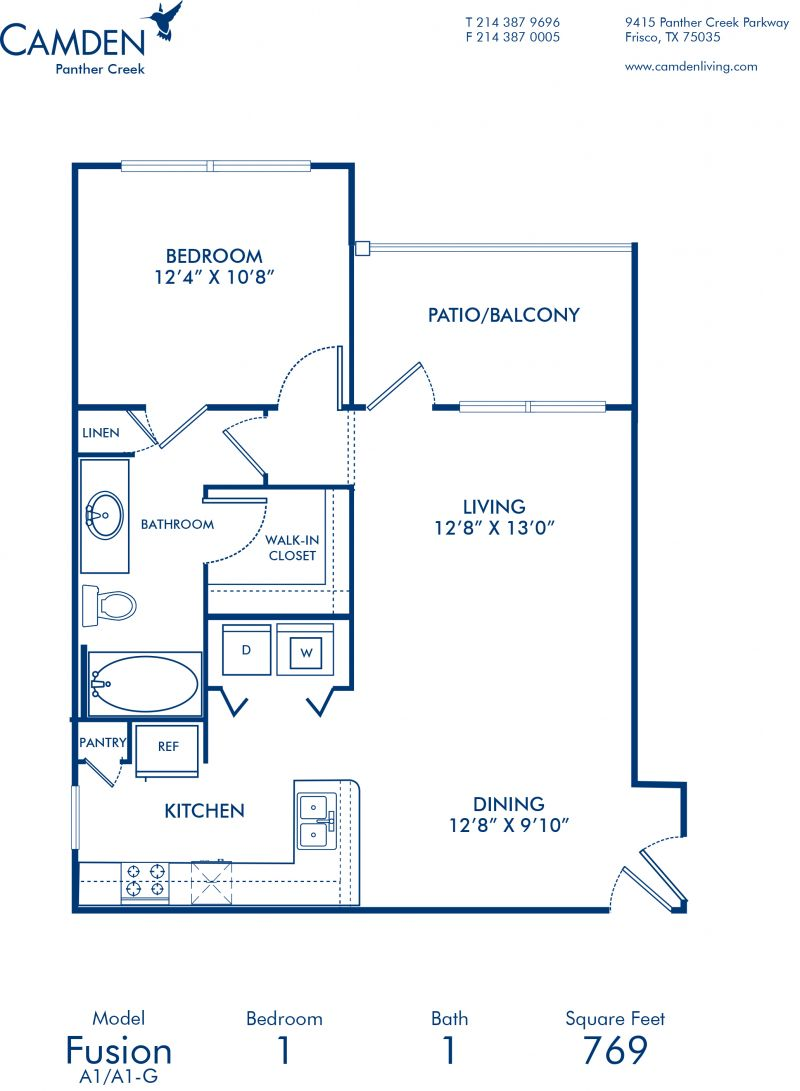 Rush Creek Apartments: 1, 2 & 3 Bedroom Apartments In Frisco, TX