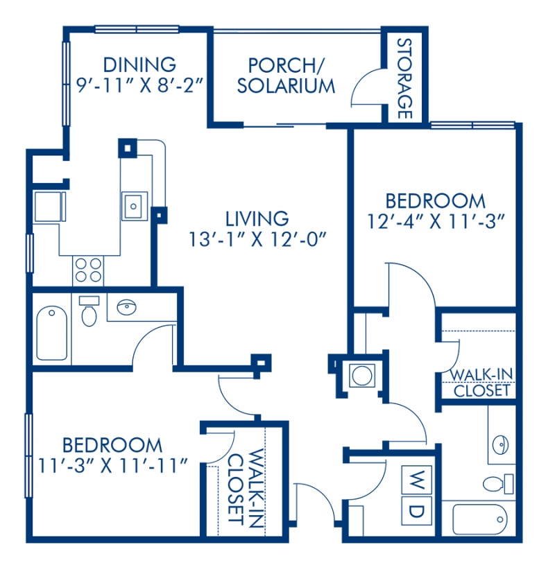 1, 2 & 3 Bedroom Apartments In Tampa, FL