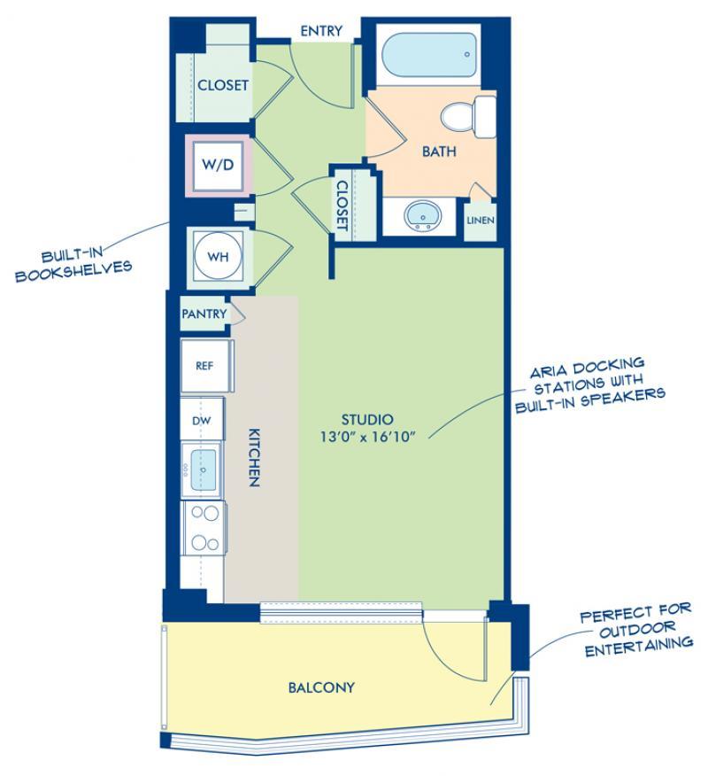 Studio, 1 & 2 Bedroom Apartments In Washington, DC