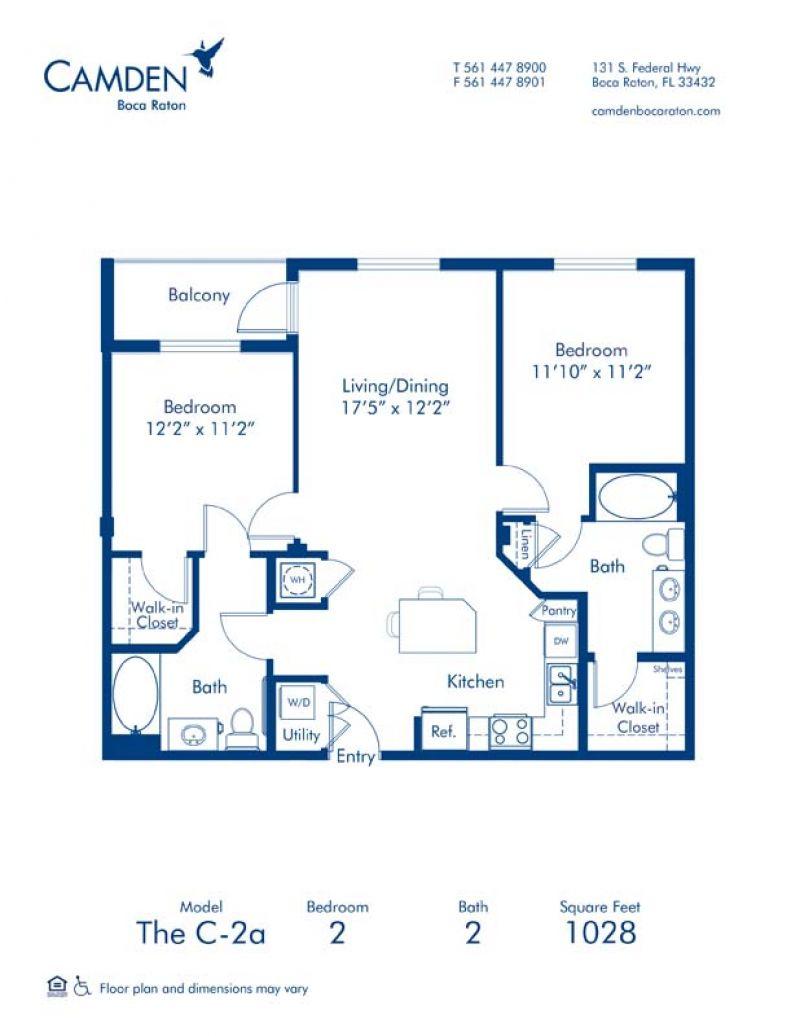 1 2 Bedroom Apartments In Boca Raton Fl Camden Boca Raton