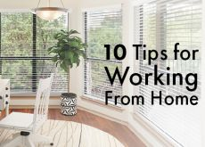 10 Tips for Working From Home