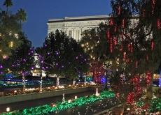 Holiday lights - Mesa Temple - Mesa, AZ