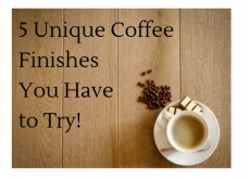 5 unique coffee finishes you must try!