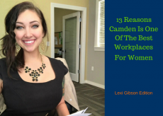 Camden apartments 13 best workplaces for women, Lexi Gibson edition.