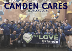 Camden Cares about Central Florida and Second Harvest Food Bank of Central Florida!
