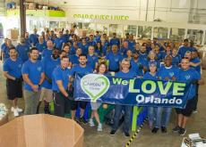 Camden Helps Clean the World Foundation in Orlando, FL