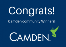 Camden ApartmentRatings.com Award winners