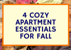 Four Easy Ways to Make Your Apartment Cozy For Fall