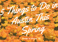 5 Things to Do in Austin This Spring