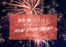 New apartment, new you, new years resolution
