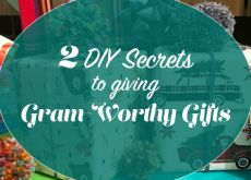 2 DIY Secrets to Giving Gram-Worthy Gifts