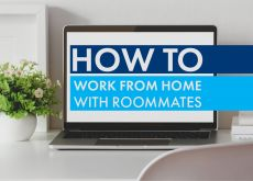 How to Work From Home with Roommates