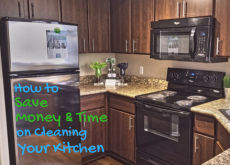 How to Save Money & Time on Cleaning Your Kitchen