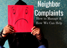 Neighbor Complaints: How to Manage & How We Can Help