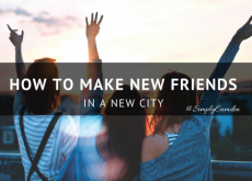 How to make new friends in a new city