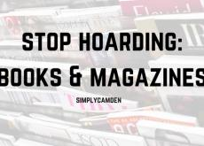 Stop Hoarding: Books and Magazines