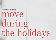 Why You Should Move During The Holidays